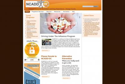 National Council on Alcoholism and Drug Dependance - Orange County